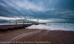 Long Exposures at the Groyne (Emily_Endean_Photography) Tags: longexposure winter sea seascape art beach water architecture mono coast seaside colours january dorset groyne bournemouth boscombe jurassiccoast
