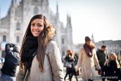 Smiling morning (Alberto Cassandro) Tags: portrait milan 35mm nikon milano sigma portraiture piazzaduomo portraitphotography sigmalenses d810 sigmaart sigma35mmart albertocassandrophotography
