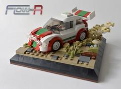Flow-R 1 (Klikstyle) Tags: car lego rally racing vignette foitsop