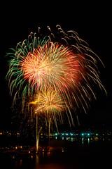 Fireworks over Saigon River (Tony Edmonds) Tags: river fireworks vietnam newyearseve saigon hochiminhcity vn hchminh