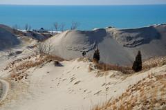 Toward the Lake (Tom Gill.) Tags: statepark lake dune lakemichigan greatlakes sanddune warrendunes