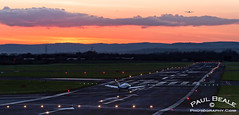 Sunset at Gloucester (egbjdh) Tags: paul photography airport aircraft aviation gloucestershire ii gloucester warrior cherokee piper ozam staverton beale pa28 a109 egbj paulbeale february2016 httpwwwpaulbealephotographycom gozam
