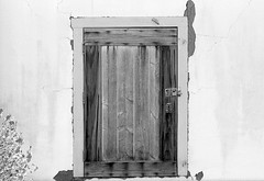 Door (SoxFanInSD) Tags: door blackandwhite film rodinal nikonn90s oldtownsandiego agfarodinal fujineopanacros100 film:brand=fuji film:iso=100 developer:brand=agfa developer:name=agfarodinal film:name=fujineopanacros100 filmdev:recipe=10644
