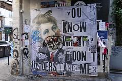Madame Moustache (Ruepestre) Tags: street madame urban streetart paris france art graffiti moustache urbanexploration urbain graffitis