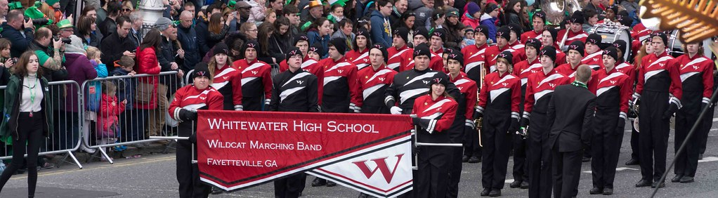 WHITEWATER HIGH SCHOOL WILDCAT MARCHING BAND [PATRICK'S DAY 2016]-112480