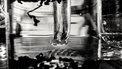 Floating tea leaf hidden dragon (roland) Tags: vancouver cafe tea floating revolver gastown tealeaves tealeaf revolvercoffee