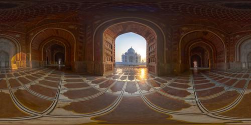 Taj Mahal @ sunrise