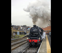 Steam 2998 (stagedoor) Tags: uk england copyright train yorkshire railway olympus whitby steamengine northyorkshire em1 nymr northyorkmoorsrailway stanier black5 45428 erictreacy