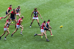 Pack (Straffo) Tags: sport melbourne stkilda afl 2016 melbournedemons jessehogan nabchallenge etihadstadium jackwatts