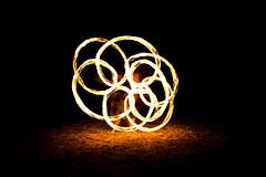 Fire Twirling (Joel) Tags: night fire patterns firetwirling