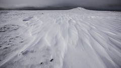 snow forms Ingleborough summit (Malajusted1) Tags: winter mountain snow sunrise yorkshire limestone forms karst ingleton ingleborough yorkshiredalesnationalpark