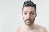 (Damien Cox) Tags: uk portrait selfportrait man male me face self ego myself beard eyes nikon masculine ears moi topless messyhair shoulders autorretrato scruff stubble i damiencox damiencoxcouk