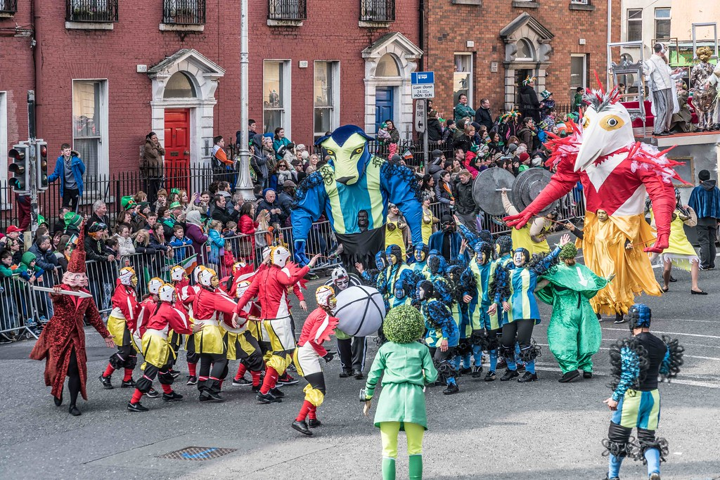 GAME ON BY CITY FUSION [DUBLIN 2016 PATRICK'S DAY PARADE]-112565