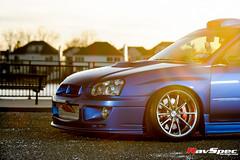 "WEDS Maverick 710S - Subaru STI 04 Blue • <a style=""font-size:0.8em;"" href=""http://www.flickr.com/photos/64399356@N08/25871539043/"" target=""_blank"">View on Flickr</a>"