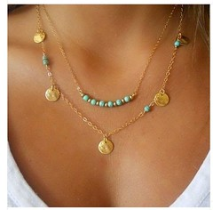 Turquoise Necklace (SilverMoonBay) Tags: trendy opensky giftideas trendyjewelry jewelrygifts discountjewelry affordablejewelry jewelrysales jewelryforless jewelrydeals