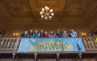 LandWords Festival, April 2016 at Callendar House in Falkirk