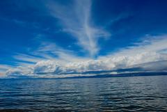 print-2503 (Tom Anirae) Tags: blue sea sky cloud lake sol titicaca del wide bolivia isla