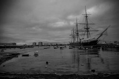 HMS Warrior (George A Watson) Tags: blackandwhite hampshire portsmouth hmswarrior