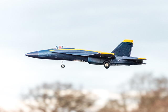 Tommy's F18.