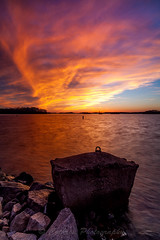 Firey Skies at Federal Park (John Cothron) Tags: longexposure winter sunset sky usa cloud sun cold color reflection nature digital georgia landscape us unitedstatesofamerica scenic lakeshore thesouth dixie eveninglight lakelanier federalpark hallcounty americansouth flowerybranch southernregion 35mmformat oldfederalpark johncothron canoneos5dmkii southatlanticstates leefiltersystem cothronphotography distagon2128ze distagont2821ze zeissdistagont21mm28ze 3stopneutraldensityfilter 3stopsoftedgegraduatedneutraldensityfilter lee90nd lee90gs ©johncothron img13307160316 fireyskiesatfederalpark