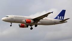 SAS Scandinavian Airlines Airbus A320-