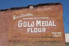 Gold Medal Flour, Weston, WV (joseph a) Tags: sign westvirginia weston ghostsign goldmedalflour paintedadvertisement