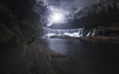 The old man & the river (Mathulak) Tags: france river waterfall nikon oldman rivire le lee d750 cascade vis gard 1635 poselongue nd1000 saintlaurentleminier cascadedelavis leefiltersbigstopper