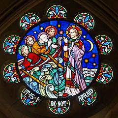 Offenham, Worcestershire, St Mary and St Milburgh (Tudor Barlow) Tags: england spring churches stainedglass worcestershire listedbuilding preedy parishchurch offenham frederickpreedy gradeiilistedbuilding lumixfz200