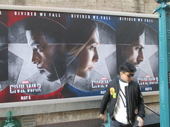 Captain America Civil War Sidewalk Billboard 2016 ADs 8162 (Brechtbug) Tags: world street new york city nyc chris winter two 3 america ads movie subway poster soldier book three evans war theater comic sam sebastian theatre near steve entrance super joe ironman tony billboard lobby stan sidewalk v civil ii ave captain hero falcon anthony billboards wilson shield vs rogers marvel stark 7th barnes bucky russo the 2016 36th standee 04142016