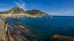 IMG_5236-Pano-Punta Molentis (Reietto) Tags: sardegna blue sea sky italy macro closeup clouds seaside mare sardinia cielo puntamolentis tamronsp1750f28 canoneos7d spiaggebeach cristiancarbini16 pasquetta2016 villasimiusitalia