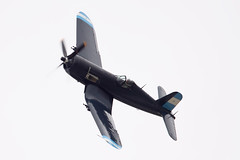 F4U-5N VH-III 11 (joolsgriff) Tags: airshow corsair chance warbird 2016 vought tyabb f4u5n 124493 ytya fah603 peninsulaaeroclub vhiii