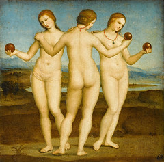 - The Three Graces (The K Series) Tags: italy paris art painting three muse raphael renaissance graces the  cond  thekseries