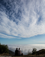 """Are We In Heaven?"" (tourtrophy) Tags: ocean clouds couple bigsur pacificcoast canonef24mmf14liiusm canoneos5dmark3"