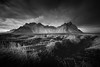 There may be trouble ahead (vulture labs) Tags: blackandwhite seascape mountains landscape iceland dramatic monochromatic vestrahorn tonetastic vulturelabs
