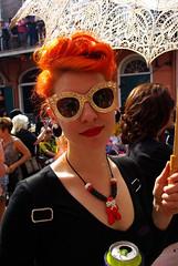 Carrot Top on Bourbon Street (Eddie C Morton) Tags: street gay woman hot sexy art wet girl lesbian naked nude square french criollo model glamour louisiana photoshoot body neworleans jackson frenchquarter quarter margarita cultures cajun daiquiri creole marguerita gwada mestizo ladymarmalade decateur creolelady artofvisuals showmeyournola