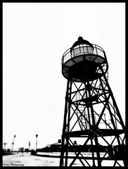 Lighthouse in black and white (Mone-Photography) Tags: light lighthouse white house black holland beach netherlands dutch strand blackwhite scheveningen denhaag zuidholland kijkduin