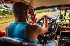 The Cuban Taxi Driver (Rui P Baio) Tags: road hot latinamerica america island highway taxi cuba cigar communist revolution latin mojito socialist driver caribbean latino cuban salsa tobacco regime espaol caribe