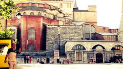 (NamiQuenbyBusy) Tags: turkey turkiye istanbul hagiasophia turkish ayasofya constantinopel turki bizantium konstatinopel  summer2014