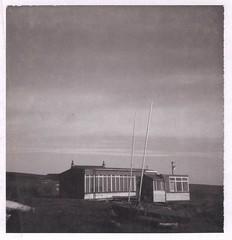 Redbrook Sailing Club (flowerpotman!) Tags: white black film polaroid sailing scan pack type 80 swinger 87 2007 redbrook reserevoir