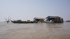 Tonle Sap floating village (picturesfrommars) Tags: lake cambodia kambodscha village floating sap tonle a6000 selp1650