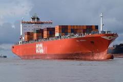 OOCL Montreal (Thorsten Mothes) Tags: montreal hamburg container daewoo elbe blohmvoss ooclmontreal orientoverseascontainerlines