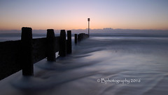 Dawn rush. (baldridge1271) Tags: sea england seascape clouds sunrise landscape waves tide northumberland northeast groyne blyth