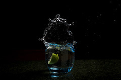 Impeccable Timing (Cho Shane) Tags: nightphotography playing motion water beautiful beauty night wow dark creativity amazing lemon nice fantastic nikon pretty action sweet gorgeous flash low creative bored freezing sigma flashphotography stunning lime splash dslr gin lowkey amateur beatiful inaction inmotion watersplash timing productphotography impeccable sigmalens amazingview productphoto creativephotography amazingshot lowkeyphotography stunningshot amazingsight dslrcamera amazingcomposition dslrphotography sigma1750 freezingmotion impeccabletiming stunningmoment freezingaction nikond5300