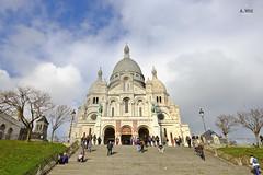 Sacr-Cur (A. Wee) Tags: paris france church europe basilica montmartre   sacrcur