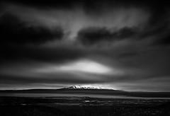Mt. Susitna (Dan Moran AK) Tags: longexposure blackandwhite alaska clouds dark landscape nikon anchorage nd d750 tamron susitna anchoragealaska mtsusitna 2470 neutraldensity firecrest mountsusitna formatthitech tamronsp2470mmf28divcusd