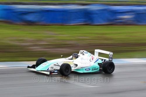 Billy Monger in British Formula Four during the BTCC Donington Weekend: 16th April 2016