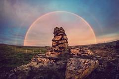 Double Rainbow (Geinis) Tags: nature canon iceland rainbow rocks stones double sland regnbogi vara canon70d geinis