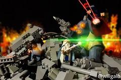 BvS: Doomsday (willgalb) Tags: fight lego superman lotr wonderwoman batman vs minifig benaffleck doomsday diorama kryptonite morganfreeman cavetroll kryptonian vitruvius henrycavill legomovie galgadot sacksnyder dawnofjustice