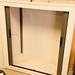 2 door grey tambour unit