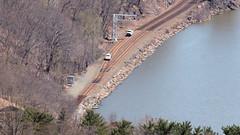 Southbound on the West Shore (blazer8696) Tags: railroad usa ny newyork unitedstates bearmountain mow 2016 ecw westshore fortclinton img6803 t2016